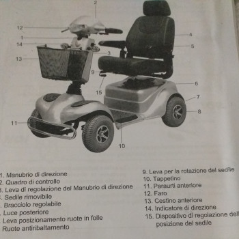 Scooter x disabile mod  Argo