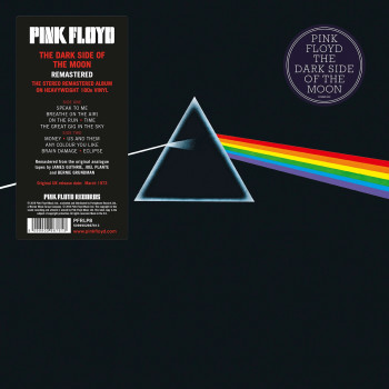 PINK FLOYD THE DARK SIDE OF THE MOON - VINILE