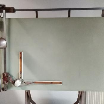 Tavolo da disegno BIEFFE con tecnigrafo ZUCOR
