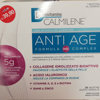COLLAGENE Anti age INTEGRATORE