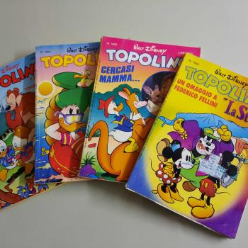 TOPOLINO anno 1993 - 82 numeri ben conservati