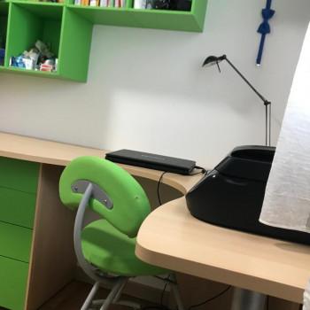 Cameretta zona studio