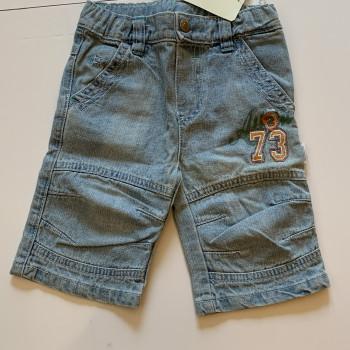Pantalone jeans corto bambino