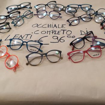 Occhiale vista di marca completo di lenti