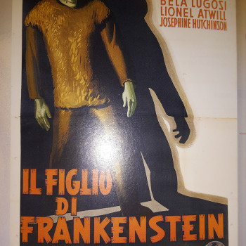 Manifesti cinema Frankenstein