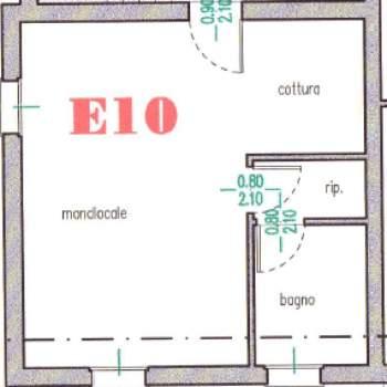 Monolocale in vendita a Bondeno (FE)