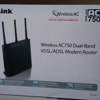 Modem router D-Link AC750