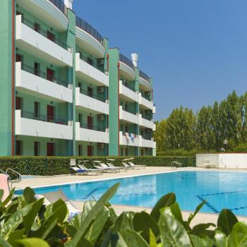 Caorle - Levante, Bilocale al piano terra in Residence con Piscina