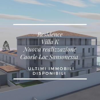 Nuova Realizzazione, Attico con doppi servizi. Caorle - Quartiere Sansonessa