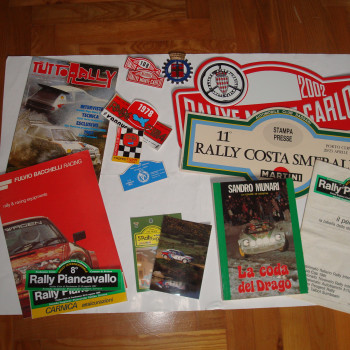 Materiale Rally