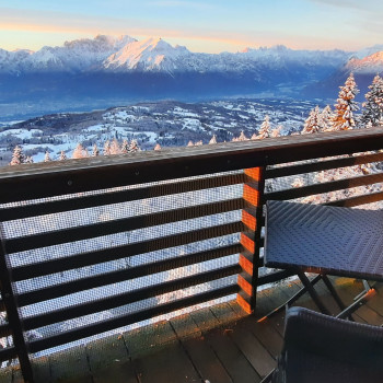 Monolocale con vista sulle Dolomiti