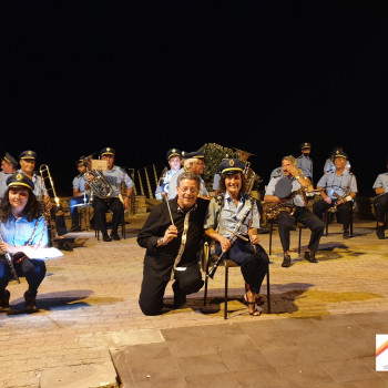 Banda Musicale P. Anfossi di Taggia 29 Agosto 2021  Dirige  Vitaliano Gallo