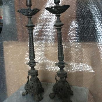 Vendo candelabri