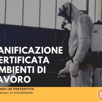 Servizi di sanificazioni ambientali con Ozono