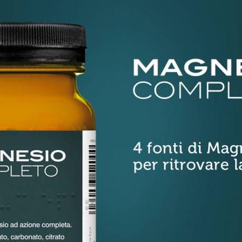 MAGNESIO COMPLETO SOLUBILE 400 GR INTEGRATORE NATURALE