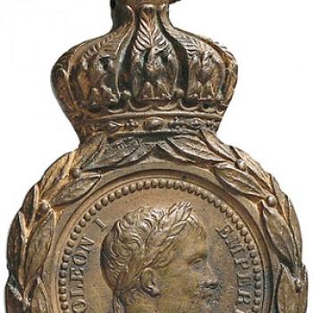 Medaglia d' epoca commemorativa di Napoleone