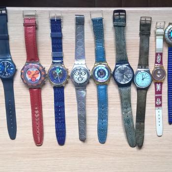 16 orologi Swatch anni dal 1990 al 1999