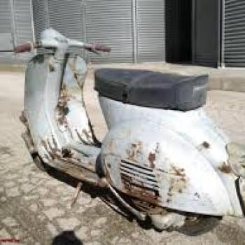 cerco vespe lambrette e moto vecchie